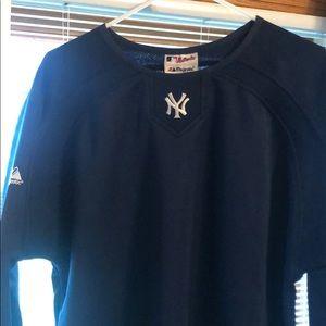 New York Yankees Majestic Pull over fleece